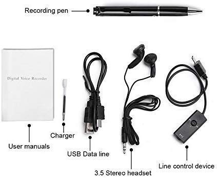 Spy Pen Digital Voice Activated Recorder